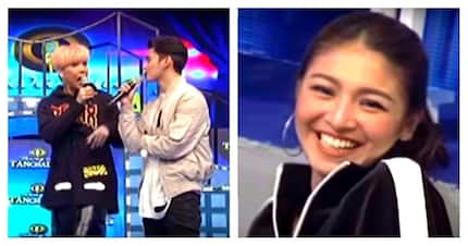 James Reid gives epic love advice for single people on 'Its Showtime!' Kinilig naman si Nadine Lustre!