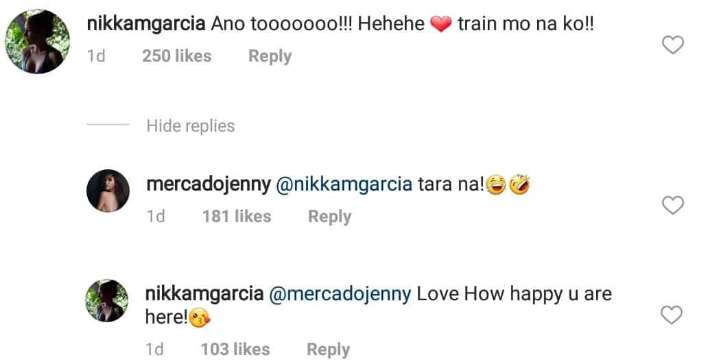 Idol niya kasi! Nikka Garcia asks for Jennelyn Mercado's help