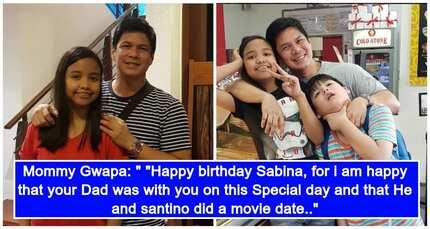 Raymart Santiago, nakipagbonding kay Sabina para sa ika-14th Birthday nito