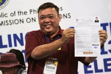 Final na 'to! Harry Roque files his COC to join the Senatorial race