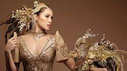 National costume ni Michele Gumabao para sa Miss Globe 2018, pinagkaguluhan ng mga netizens