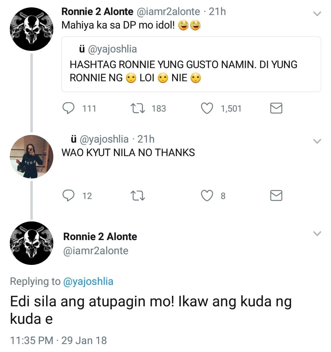 Yumabang na daw? Ronnie Alonte answers former fans furiously