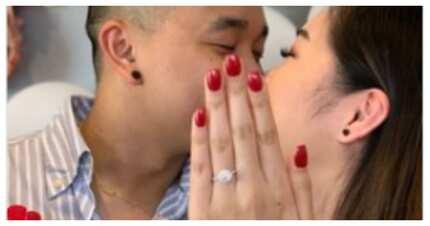 Bride-to-be, hiniram ang kamay ng pinsan para sa engagement photo niya