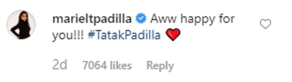 Mariel Padilla reacts to Kathryn Bernardo's viral post about Daniel Padilla