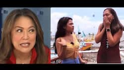 Karen Davila joins the fun online with her and Lyca Gairanod's viral meme