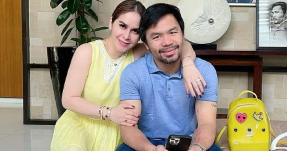 Manny Pacquiao & his wife Jinkee celebrate their 22nd wedding anniversary