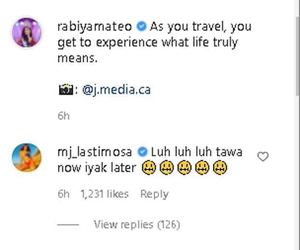 Manang MJ Lastimosa, nilaglag sa socmed si Rabiya Mateo pagkatapos ng breakup