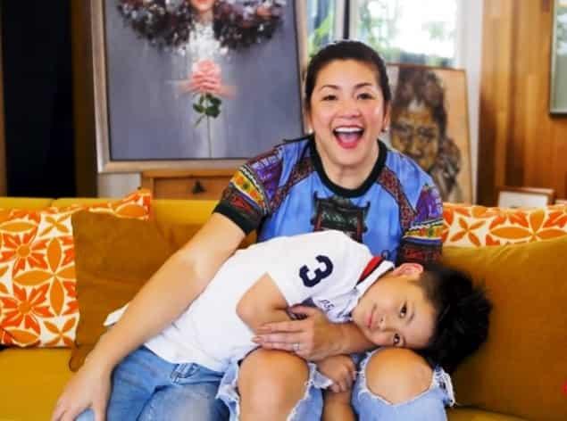 Nate Alcasid, agaw-eksena sa luxurious bag collection vlog ng mommy na si Regine Velasquez
