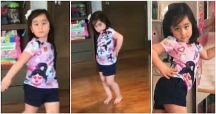Scarlet Snow Belo wows the netizens with her excellent version of Catriona Gray's slow-mo twirl
