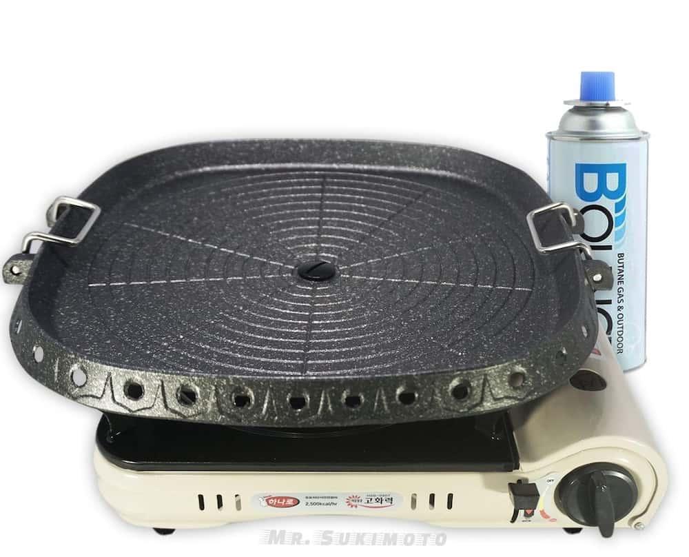 Affordable Korean grill and stove to enjoy samgyupsal at home