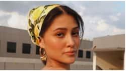 Maureen Wroblewitz receives flowers from boyfriend JK Labajo after Miss Universe PH stint