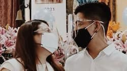 "Mark Herras at partner na si Nicole Donesa, ikinasal sa Quezon City: ""Got married. Hi Mrs. Herras"""