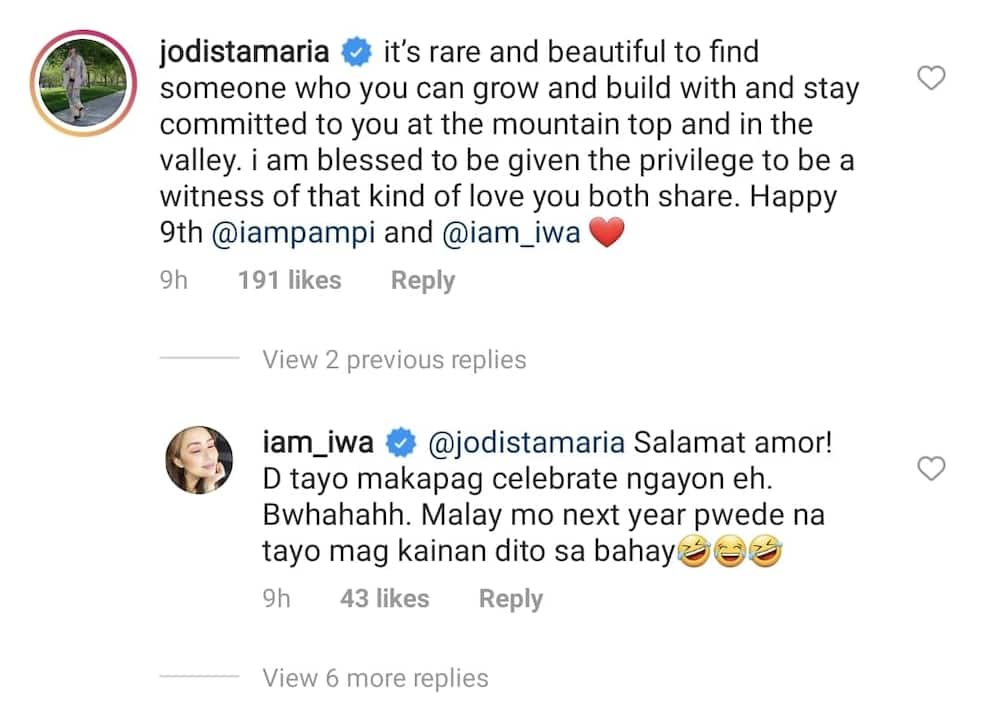 """Iwa Moto calls Pampi Lacson her """"forever"""" in viral post; Jodi Sta. Maria reacts"""