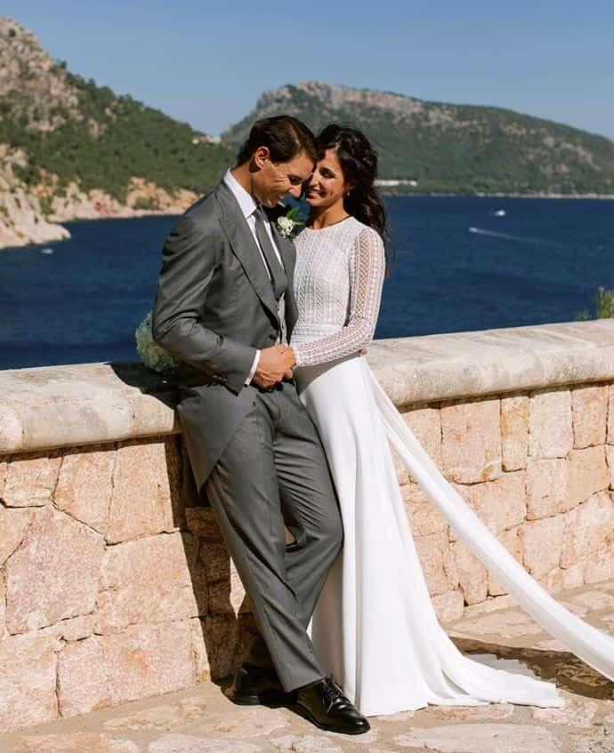 Tennis star Rafael Nadal ties the knot with long-time girlfriend in Spain
