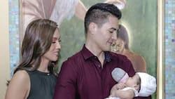 Aubrey Miles & Troy Montero's baby girl gets baptized in Catholic Church