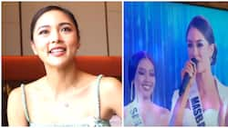 Kim Chiu expresses support for Kisses Delavin while watching MUP coronation night on TV