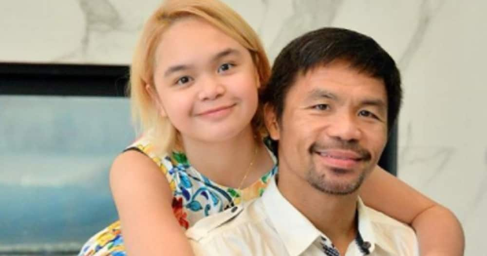 Manny Pacquiao's bonding moments with his kids days before his fight go viral