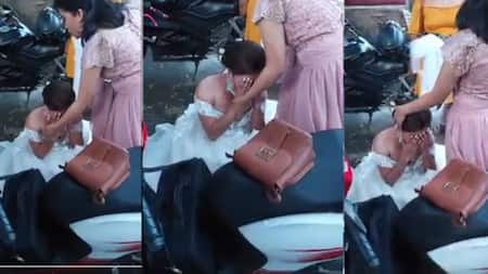 Bride, humagulgol sa labas ng reception venue dahil hindi pala umano na-book ng coordinator