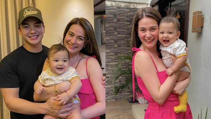 """Photos of Claudia Roque with her """"Ninong"""" Dominic Roque and """"Ninang"""" Bea Alonzo goes viral"""