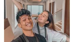 Vin Abrenica gives tour of his, Sophie Albert's newly constructed house