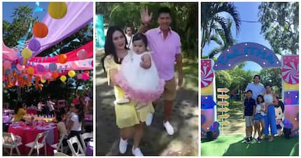 Tali turns 1! Talitha Sotto's picnic-inspired party