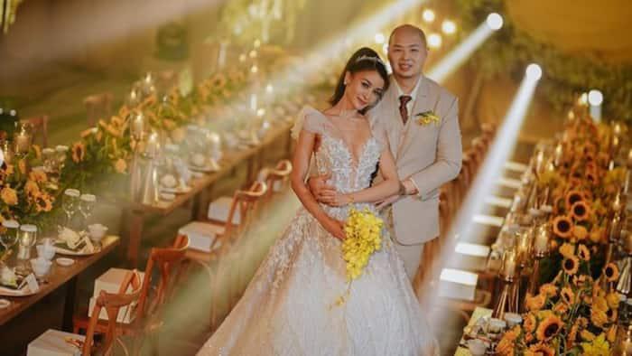 Bonggang wedding reception ni Kris Bernal, first time ipinakita sa publiko