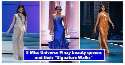 Miss Universe PH Signature Walks! 8 Gorgeous Pinay beauty queens and their fabulous famed struts