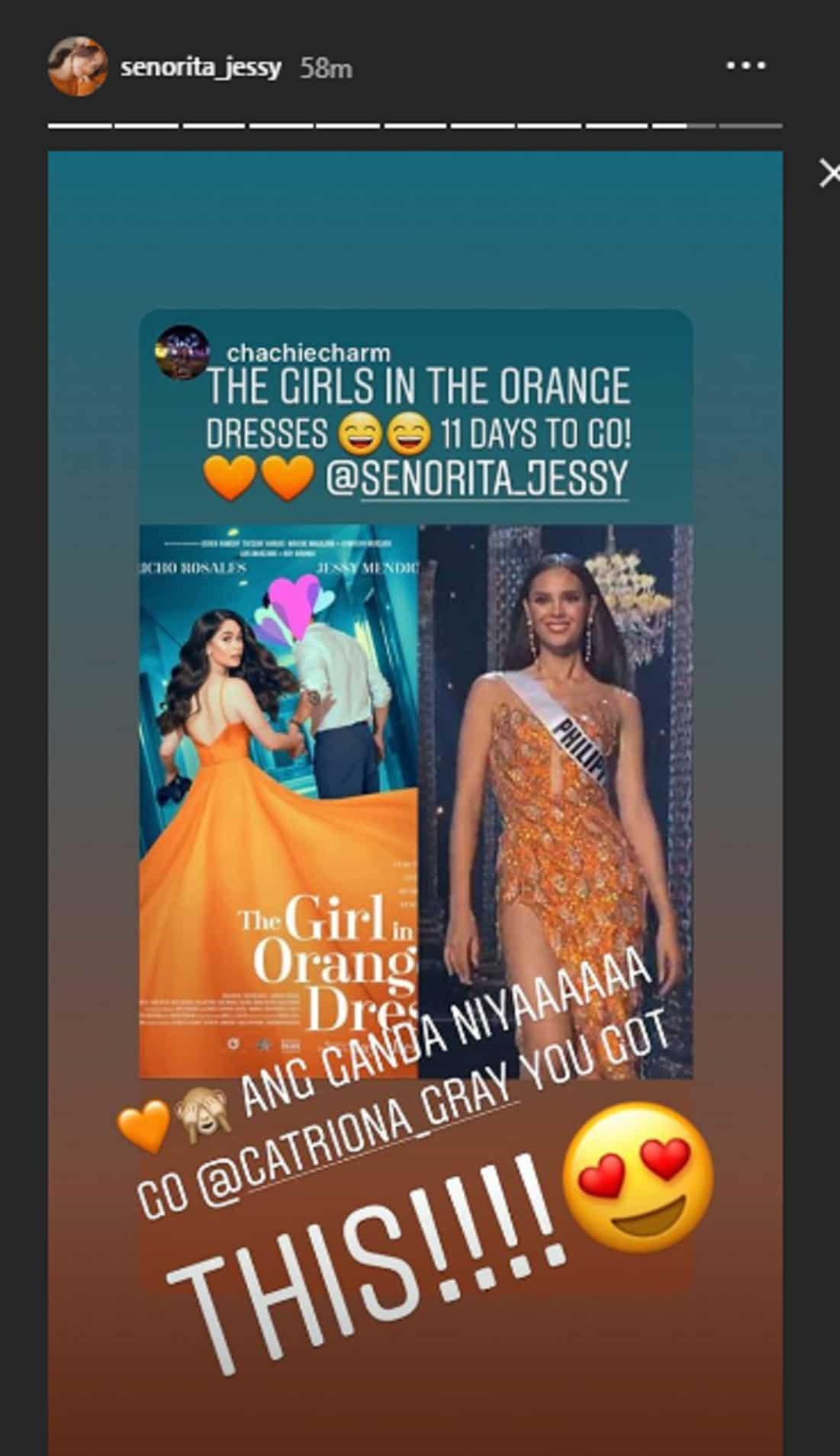 Ilang sikat na celebrities, namangha din sa galing ni Catriona Gray sa Miss Universe 2018 preliminaries