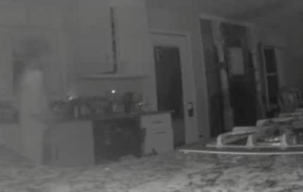 Mom gets stunned after security cam appears to show her dead son's ghost