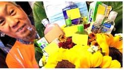 """Flower shop sa Baguio, kinagiliwan dahil sa pagbebenta ng """"coronavirus bouquet"""""""