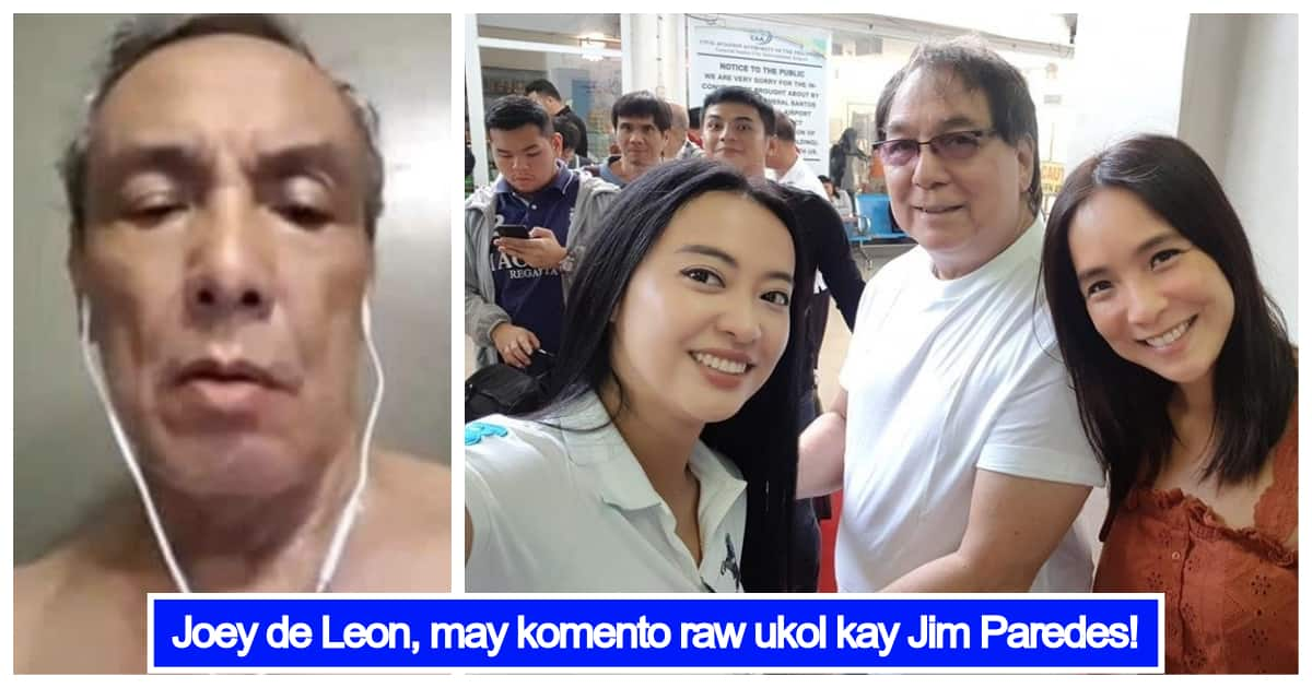 Joey De Leon's Reaction On Jim Paredes' Video Scandal