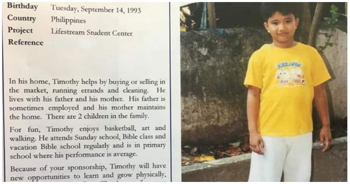 Late George H.W Bush sponsored a Pinoy child for a decade secretly; sent him letters
