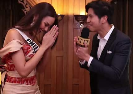 Thai fans' cute & endearing nickname for Catriona Gray unveiled in an interview
