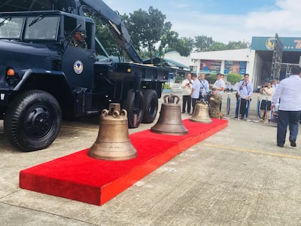 The historic Balangiga Bells are back home in PH at last