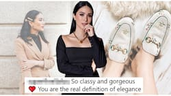 Heart Evangelista wears Gucci slip-ons and Versace barrettes with jaw-dropping price tags
