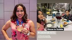 Hidilyn Diaz, coach Julius Naranjo now engaged; Hidilyn flaunts her engagement ring