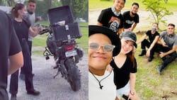 Videos at photos nina Gerald Anderson, Julia Barretto sa Pampanga, viral na