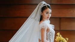 """Kris Bernal, ibinahagi ang istorya sa likod ng kanyang bridal gown: """"the gown represents my personality"""""""