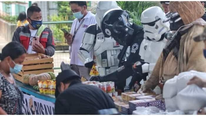 Community pantry sa Cebu, lumevel up at gumayak ala-Star Wars