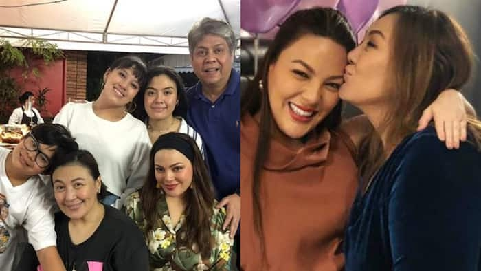 Sharon Cuneta posts throwback photo with KC Concepcion; wishes for the family to be reunited