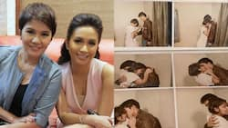 """Mariel Padilla's hilarious """"making out"""" birthday greeting for Amy Perez goes viral"""