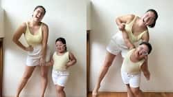 Twinning photos nina Pauleen Luna at baby Tali, kinagiliwan ng mga netizens