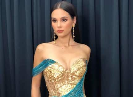 Catriona Gray's designer, Mak Tumang reveals the third evening gown she could have used in Miss Universe