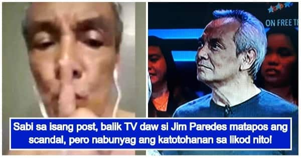 Jim Paredes Breaks Silence On Alleged Scandal Video: Fact Check: Did Jim Paredes Appear On A TV Show After His