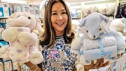 Korina Sanchez touched by twins Pepe & Pilar's birthday surprise for her