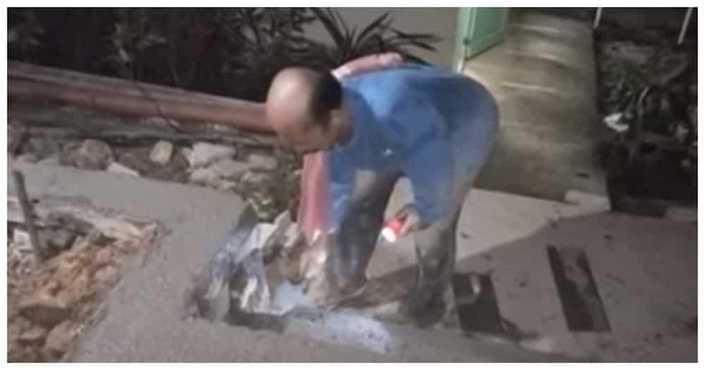 Principal sa Aklan, hinangaan dahil nagmistulang construction worker sa pag-aayos ng paaralan