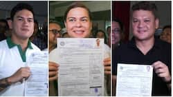 Election results for Sara, Paolo, & Baste Duterte finally revealed