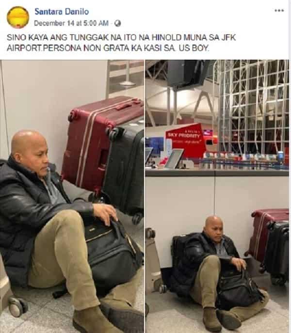 Fact check: Is Bato dela Rosa declared as 'persona non grata' in US?