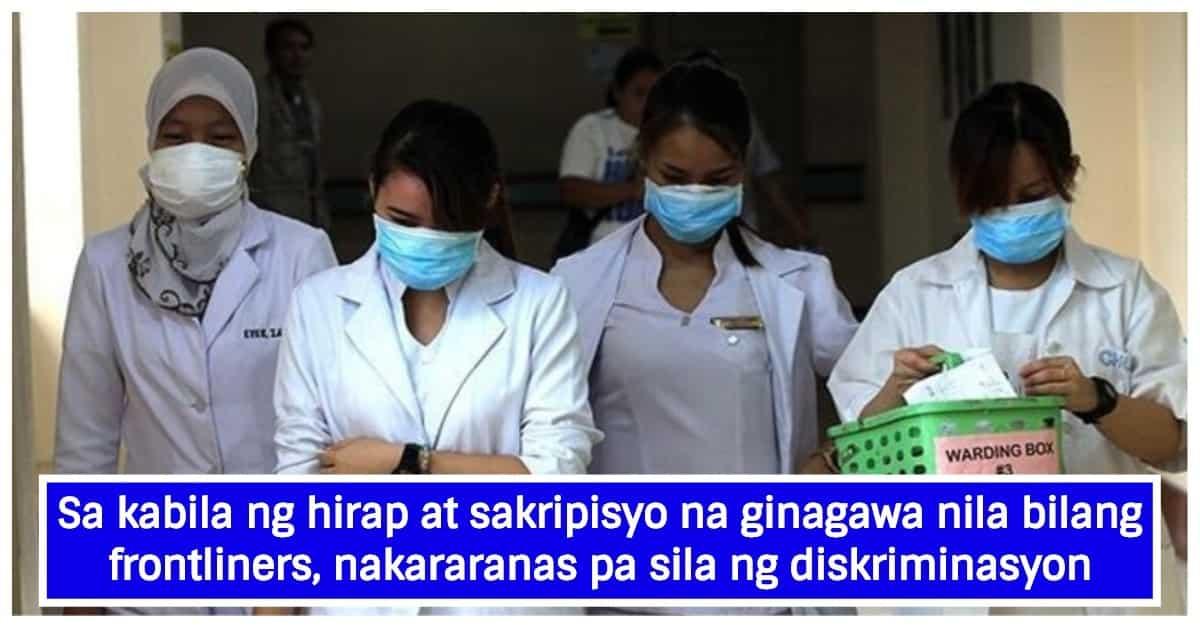 Ilang health workers, napalayas sa inuupahang bahay sa takot na mahawa sa COVID-19
