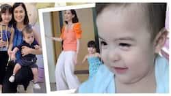 Baby Ziggy, viral ang pagiging supportive bunso kay ate Zia! Netizens, nanggigil